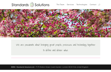 Standards Solutions CID & Website
