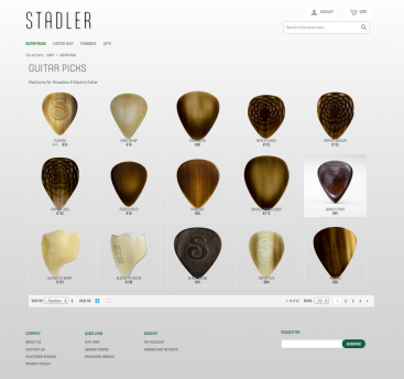 Stadler Picks website and shop